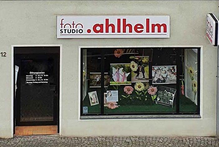 Fotostudio Ahlhelm Eingang