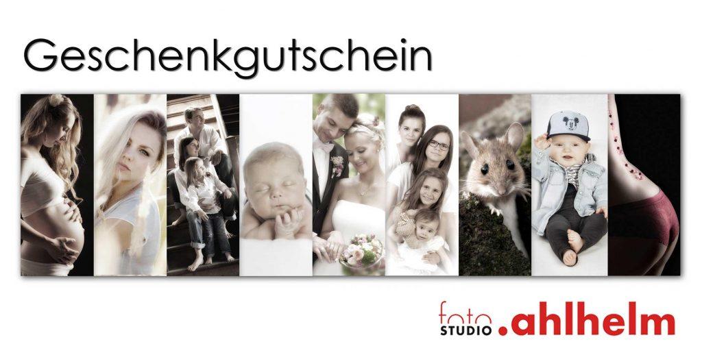 Fotostudio Ahlhelm Geschenkideen Gutschein