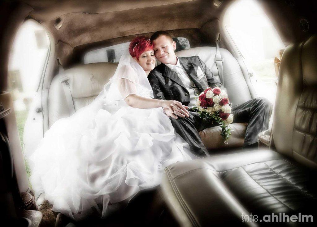 Fotostudio Ahlhelm Hochzeit on location Auto