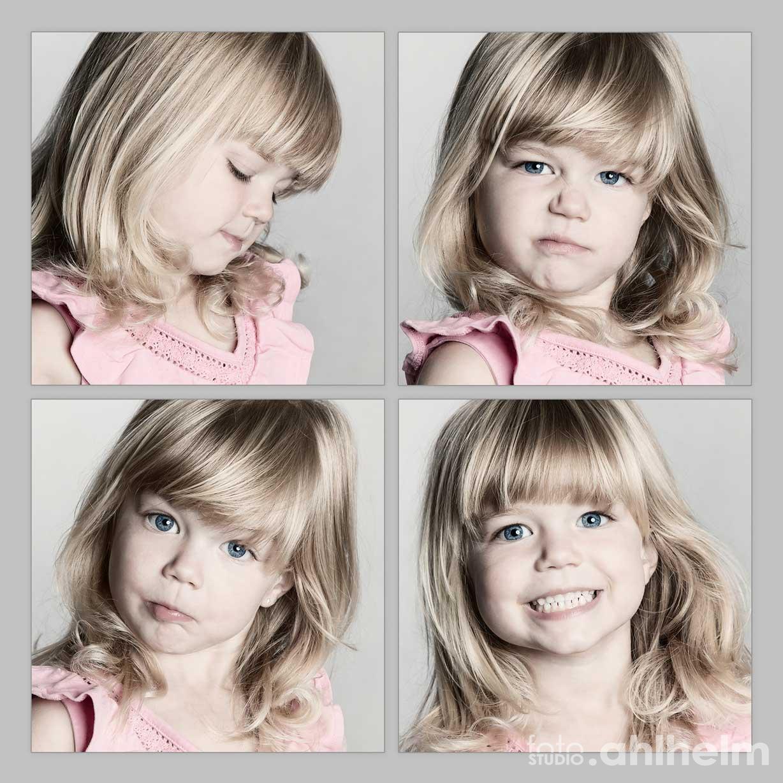 Fotostudio Ahlhelm Kinder Grimassen
