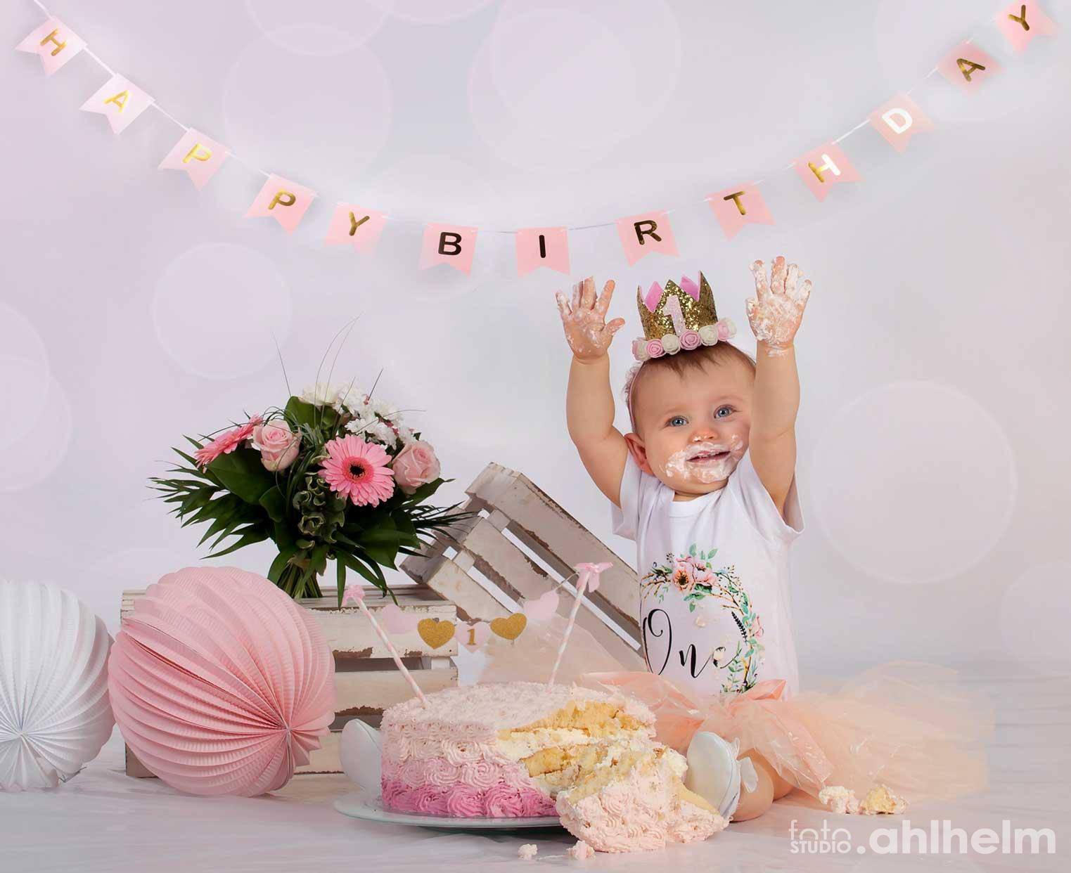 Fotostudio Ahlhelm Kinder Happy Birthday