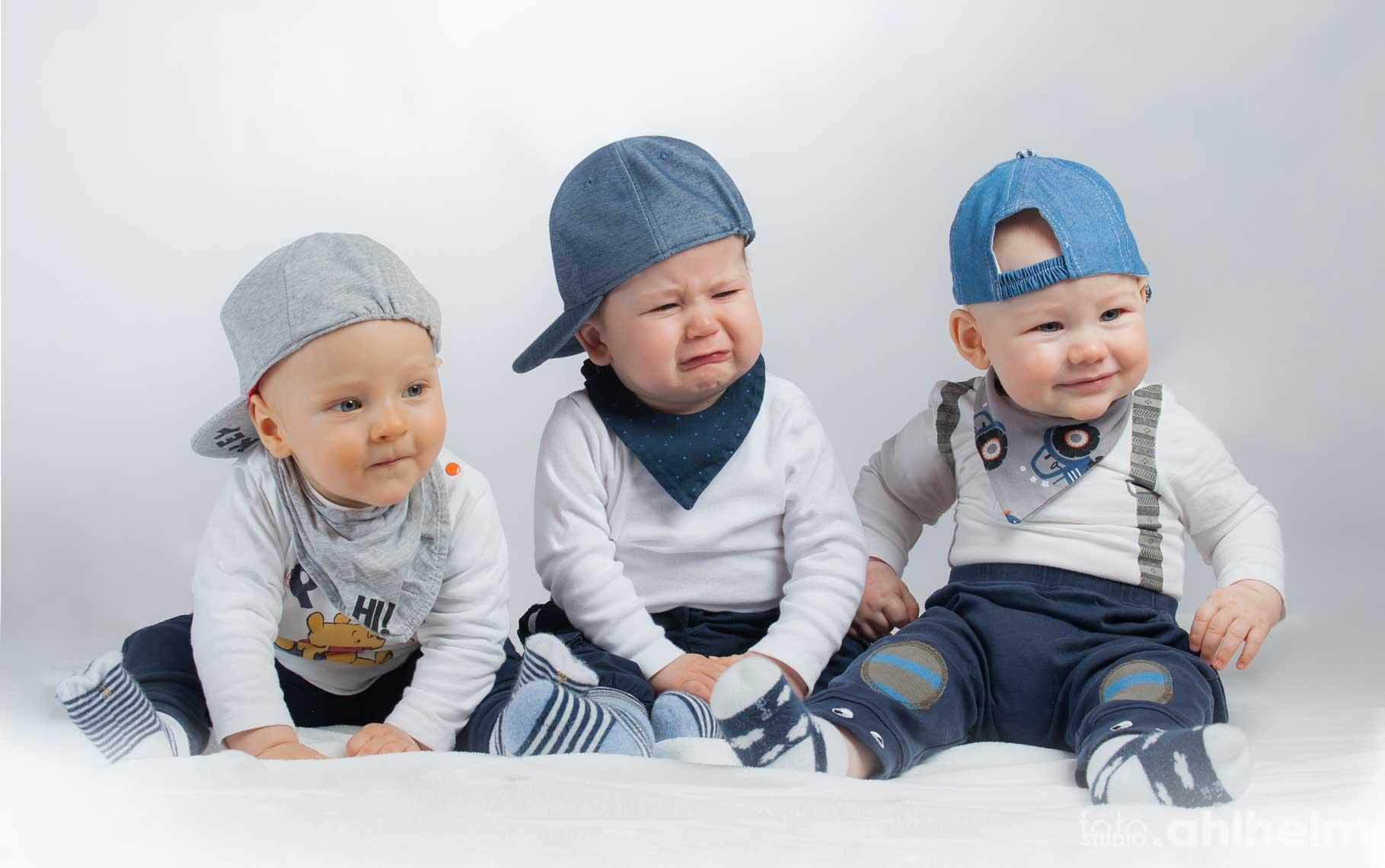 Fotostudio Ahlhelm Kinder kleine Kumpels