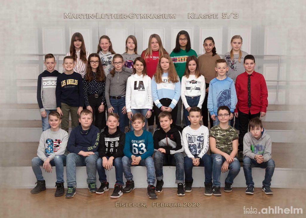 Fotostudio Ahlhelm Schulfotografie Gruppenfoto
