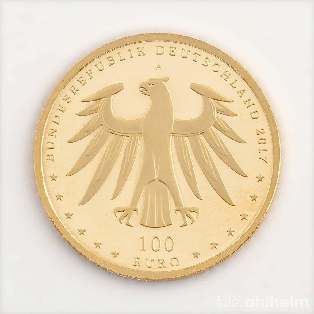 Fotostudio Ahlhelm Werbefotografie Münze
