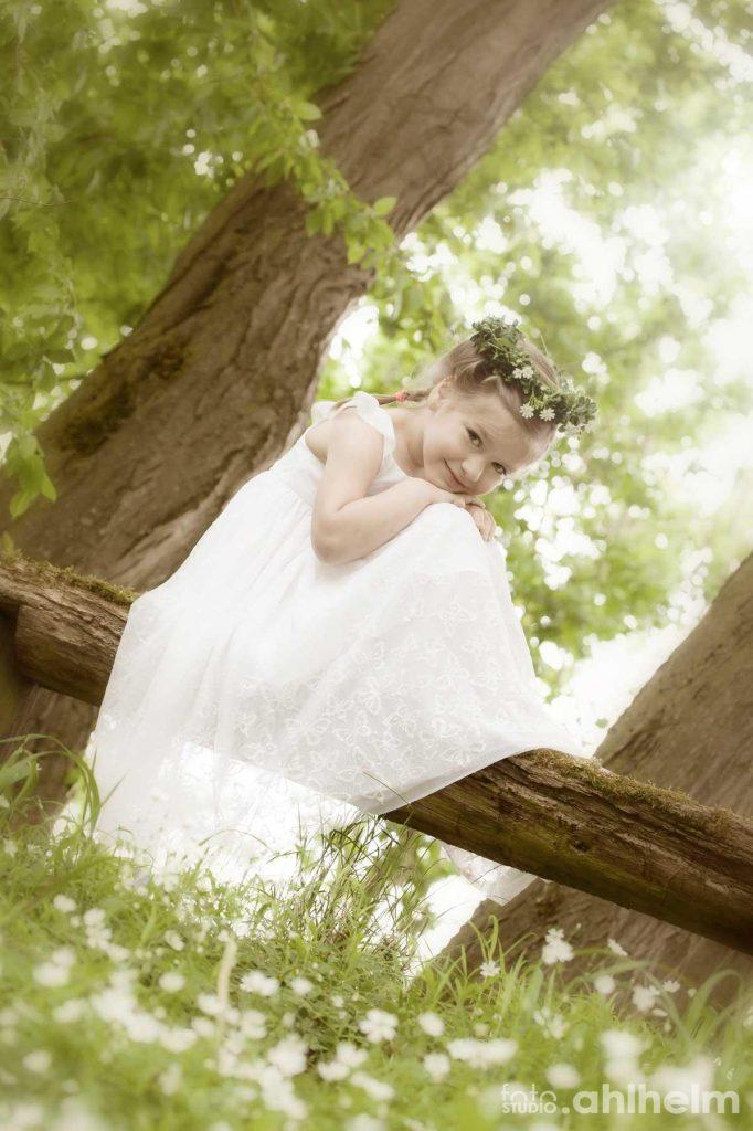 Fotostudio Ahlhelm outdoor kleine Waldfee